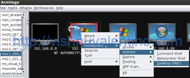 How to Use Armitage on Backtrack 5 R2 to Hack Windows