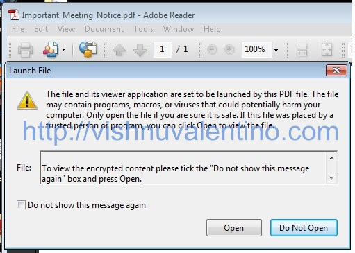 Client Side Attack Using Adobe PDF Embed EXE Social Engineering