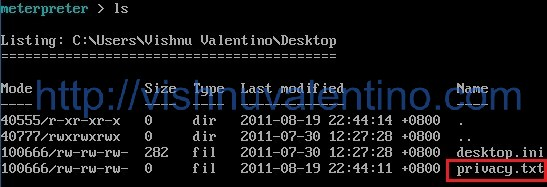 How to get Files From Victim Using Backtrack + Metasploit