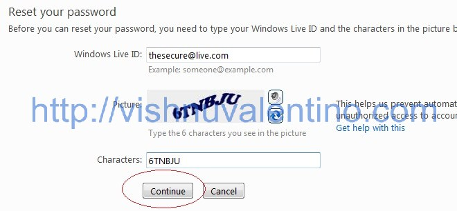 Hacking Windows Live Email