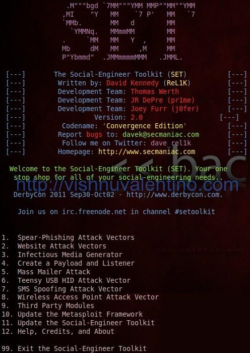 Hacking Windows Using USB Stick + Social Engineering Toolkit
