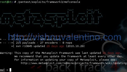 Run Your Metasploit Framework