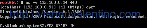 10 Steps to Use NetCat as a Backdoor in Windows 7 System