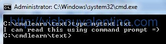 16 Steps Tutorial Basic Command Prompt