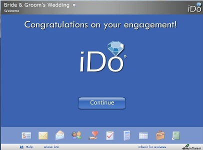 iDo Wedding Couple start