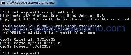 Privilege Escalation from Guest to Administrator (Windows 7/ Windows 2008)