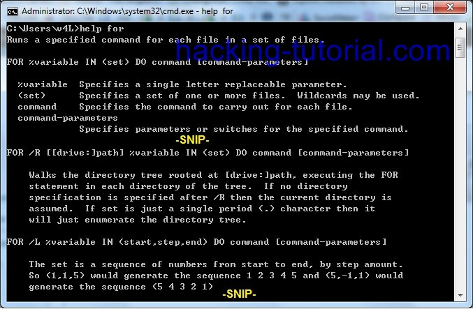 Basic Command Prompt For Looping to Find Live IP Address