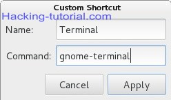 How to Create Keyboard Shortcuts on Kali Linux
