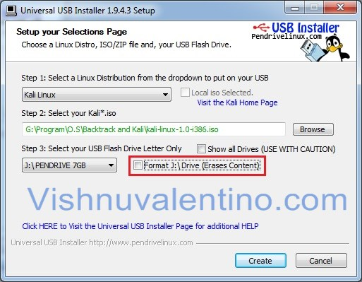 windows boot usb install