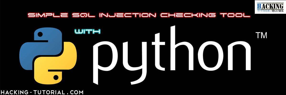 Code your first simple SQL Injection checking vulnerability