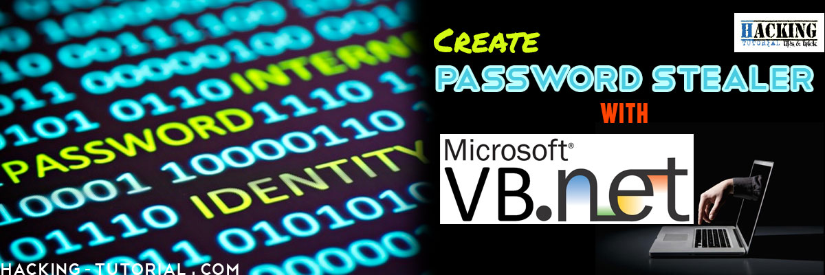 Create Password Stealer using VB Visual Studio net | Ethical