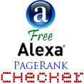 Free Alexa Page Rank Checker