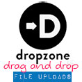 Easy Drag and Drop File Uploads (With Image Previews): Dropzone.js